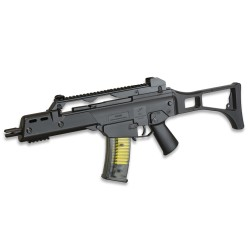 Fusil de muelle tipo G36 Double Eagle color negro