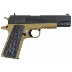 Pistola Colt 1911 dual color de Cybergun