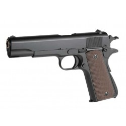 Pistola Gas 1911 A1 CLASICA Golden Eagle color negro