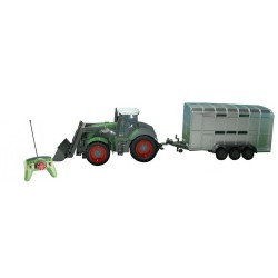 TRACTOR REMOLQUE ANIMALES RC 1/28 QingYi