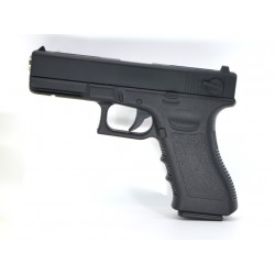 Pistola de muelle G18 Corredera Golden Eagle color negro