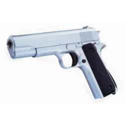Pistola de muelle 1911 A1 Golden Eagle color plata