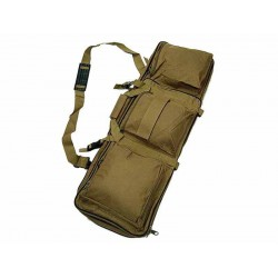 Bolsa de nailon 85cm Dual para rifle marrón Wisha