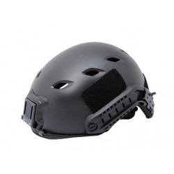 Casco táctico regulable talla L/XL negro Wisha