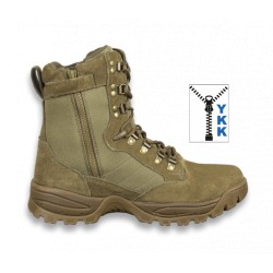 "Bota Barbaric FORCE "" SPARK"" ZIP Army. 8 pulg. Talla 40"