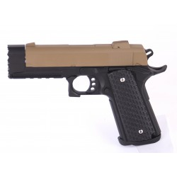 Pistola de muelle 1911 Stryke Warrior Golden Eagle color marrón claro