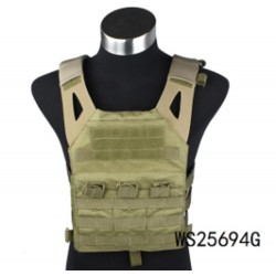 Chaleco táctico A.C.M Skirmich Jumper Plate Carrier  verde Wisha