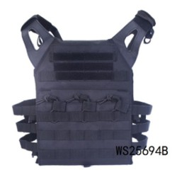 Chaleco táctico A.C.M Skirmich Jumper Plate Carrier negro Wisha
