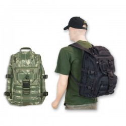 Mochila Barbaric Force Ataque Linea Irak Nylon 45x30x17 Color Acu 34388