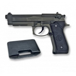 Pistoll BB Bullet. Blow Back. Metalica  Negra
