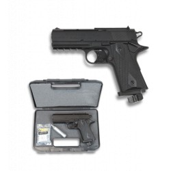 Pistoll BB Bullet Co2. 4.5 mm.Negra