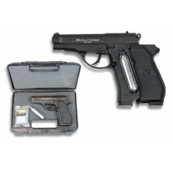 Pistola Co2.Calibre 4.5 mm (Maletin+Co2+500 bolas pulg.